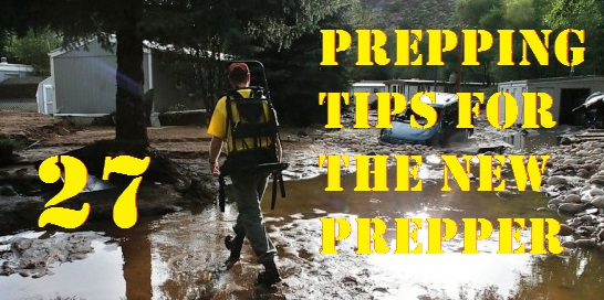 27 Prepping Tips for the New Prepper
