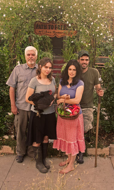 One family proves Self-reliance in the city is Possible