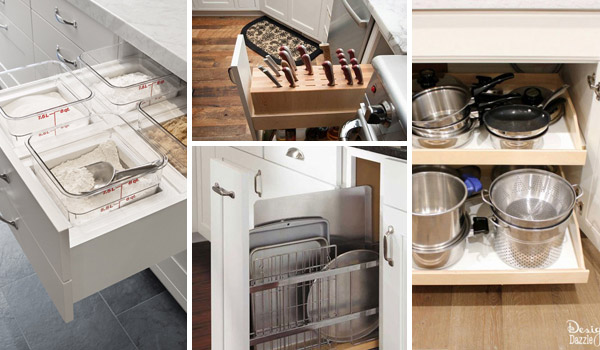15 Easy And Clever Diy Hacks To Organize Kitchen Cabinets
