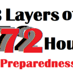 Three Layers of 72 Hour Preparedness