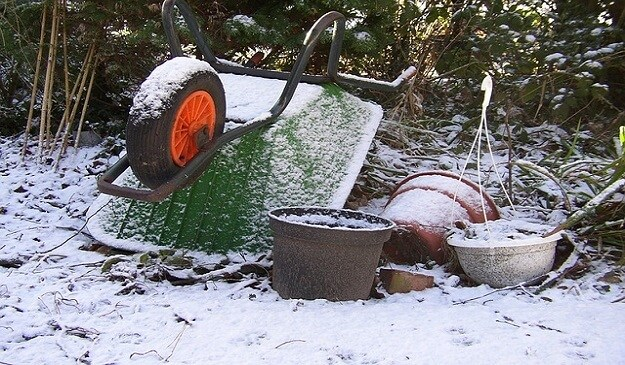 Tending your compost during the winter months