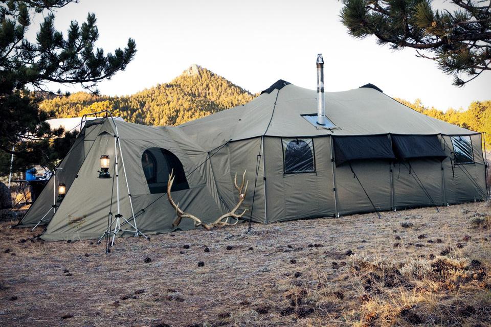 Base Camp - Tent Mansion!