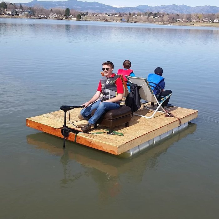 Diy Pontoon Boat The Prepared Page