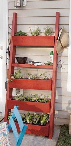 Herb Ladder Garden The Prepared Page