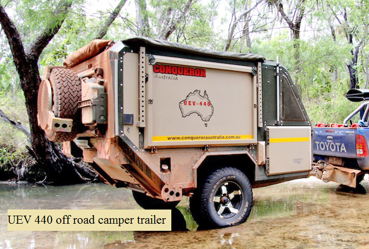 Uev 440 Off Road Camper Trailer The Prepared Page